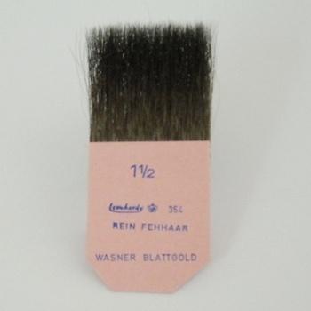 "Gilder's tip, pure squirrel hair, width 1 1/2 """