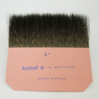 "Gilder's tip, pure squirrel hair, width 4 """