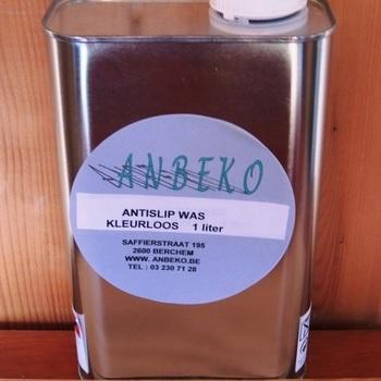 Cire liquide anti dérapant incolore