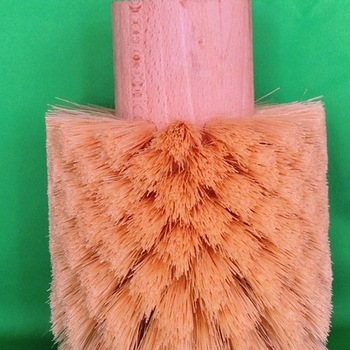 Bol boenborstel voor boormachine met tampico haar