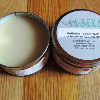 marble and stone wax solide clear