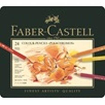 Kleurpotlood Faber Castell Polychromos assortiment etui met  24 skleuren-en