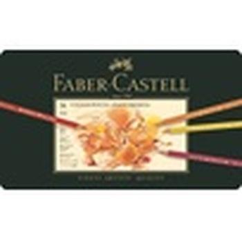 Kleurpotlood Faber Castell Polychromos assortiment etui met  36 skleuren-en