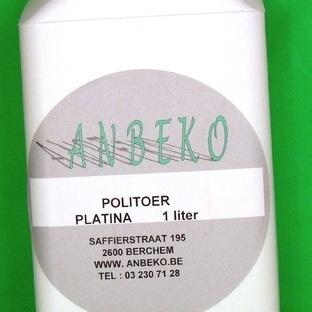 Platina polish per liter