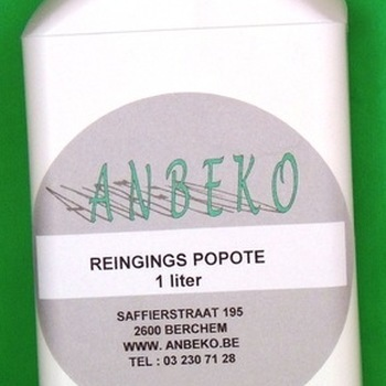 cleaning popote  per liter