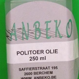 Politoer olie per 250 ml