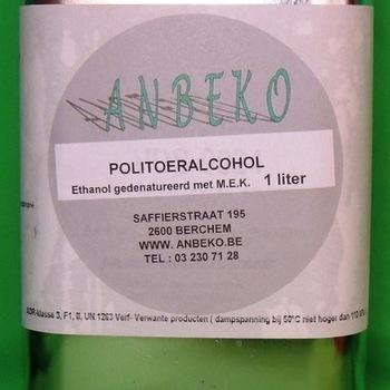 Alcohol à polier par litre