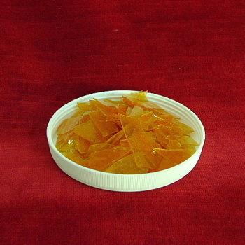 Shellac flakes clear n°9 double sun wax and resine free per kilo