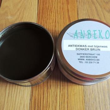 antique wax dark brown
